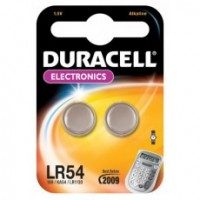 LR54 DURACELL Knopfzelle Lithium