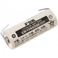 FDK CR17450SE Lith-Batterie 3V  mit U-Lötfahne
