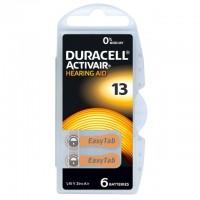 Typ 13 Hörgerätebatterien DURACELL ACTIVAIR PR48 6er Pack