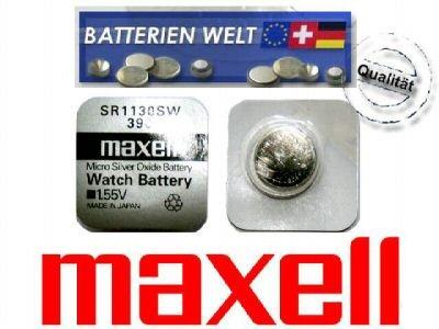 SR1130SW Maxell Uhrenbatterie