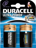 Monozellen DURACELL LR20 Mono-D Ultra Power MX1300 2er Pack