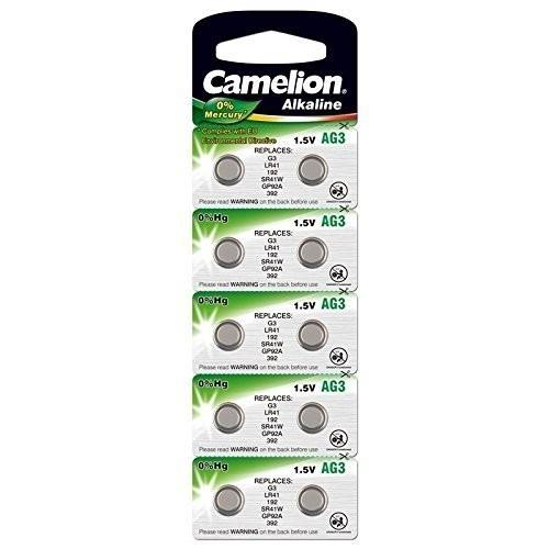 AG3 CAMELION Knopfzelle 10 Stück