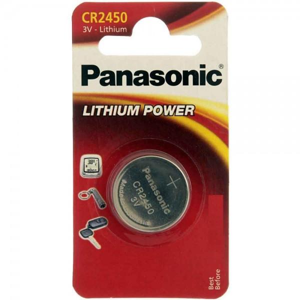 CR2450 PANASONIC Knopfzelle Lithium 1er Pack
