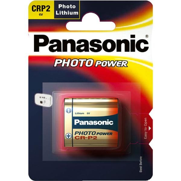 CR-P2 PANASONIC Photo Power 1er Pack