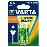 AA Akkus VARTA 800 mAh Solar 2er Pack
