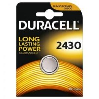 CR2430 DURACELL Knopfzelle Lithium 1er Pack