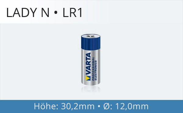 LR1 Lady N Fotobatterie
