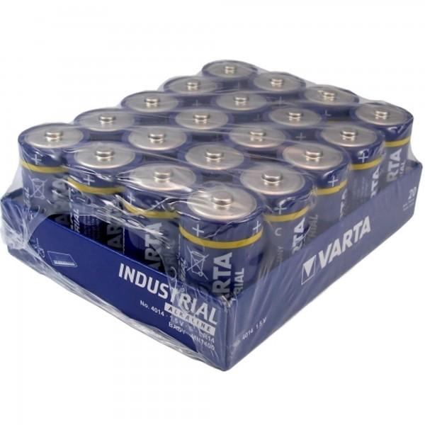Babyzellen VARTA LR14 Baby-C Industrial 4014 20er Pack