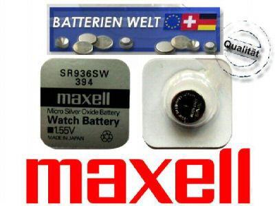 SR936SW Maxell Uhrenbatterie