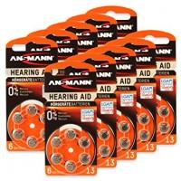 Typ 13 Hörgerätebatterien ANSMANN PR48 60er Pack