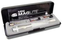 Mini Mag AAA silber