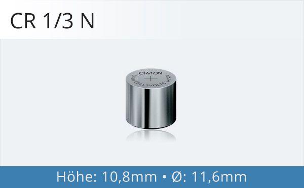 CR 1/3 N Fotobatterie