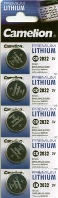 CR2032 CAMELION Knopfzelle Lithium 5er Streifen