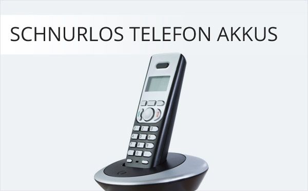 Schnurlos Telefon Akkus