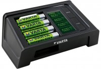 Varta LCD Smart Charger mit 4x AA 2100mAh Akkus