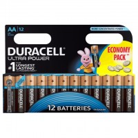 AA Batterien DURACELL LR06 Mignon MX1500 Ultra Power 12er Pack