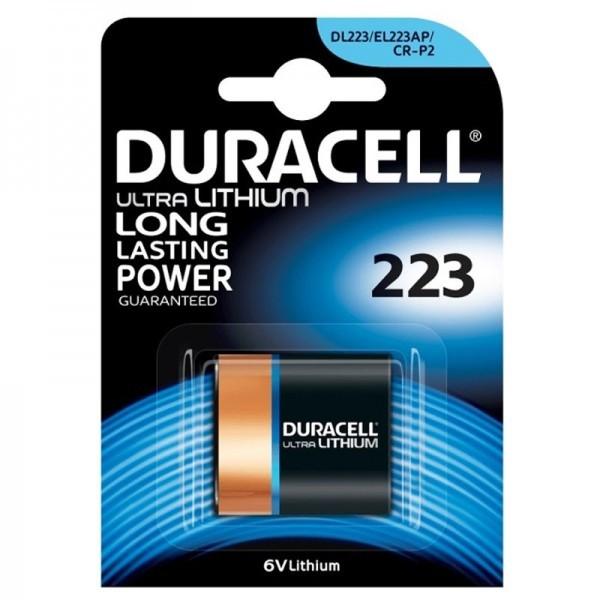 CR-P2 DURACELL Ultra Photo 223 1er Pack