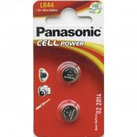 LR44 PANASONIC Knopfzelle 2er Pack