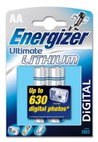 AA Energizer LR06 Ultimate Lithium L91 2er Pack