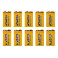 9V Batterien VARTA 6LR61 9V-Block Superlife E-Block 10er Pack