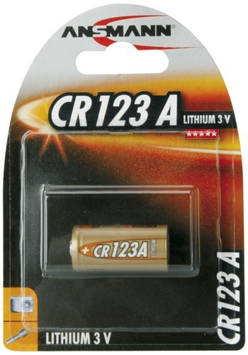 CR123a ANSMANN Lithium 1er Pack