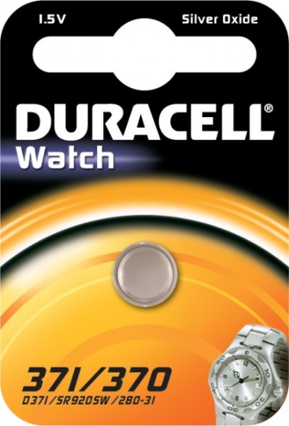 371/370 Duracell Uhrenbatterie