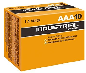 AAA Batterien DURACELL LR03 Micro ID2400 Industrial 10er Pack