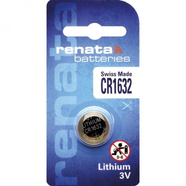 CR1632 RENATA Knopfzelle Lithium