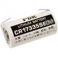 FDK CR17335SE Lith-Batterie 2/3A mit U-LÖTFAHNE