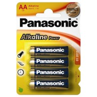 AA / LR06 Panasonic Alkaline Power 4er Pack